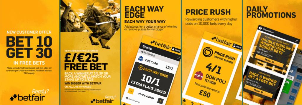 #2 Best Betting App Betfair