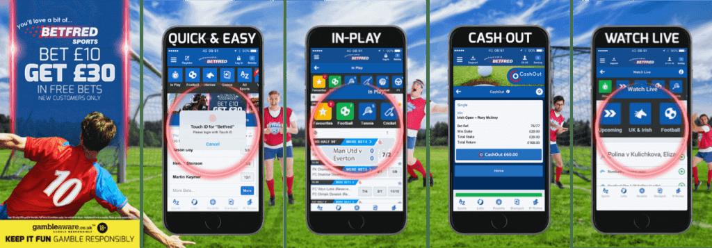 #7 Best Betting App Betfred