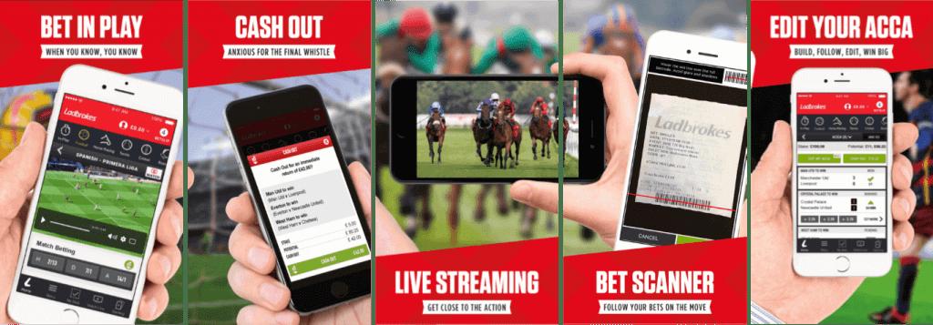 #6 Best Betting App Ladbrokes