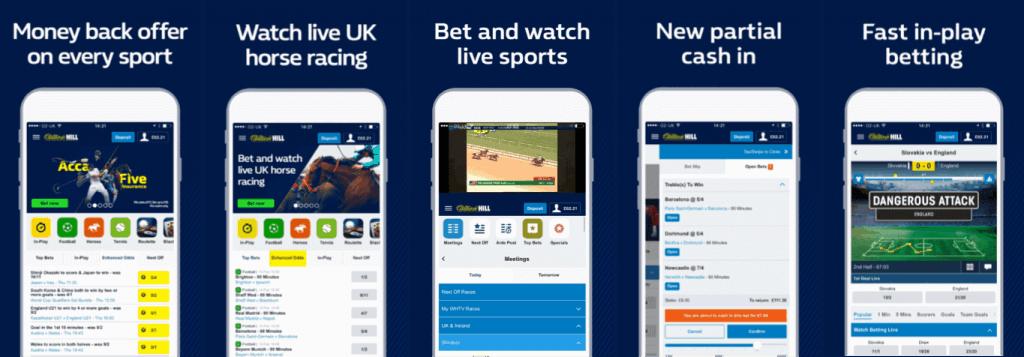 #2 Best Betting App William Hill