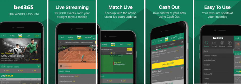#1 Best Betting App bet365