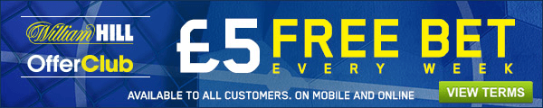 Offer Cub £5 Free Bet Every Week