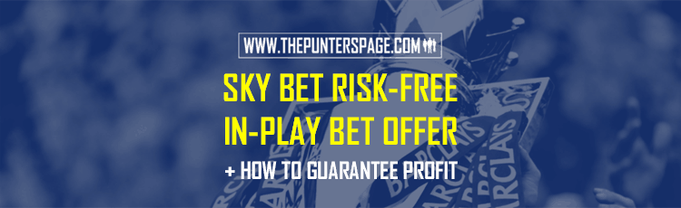 Sky Bet In-Play Offer