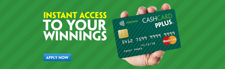 Apply Now For Your Paddy Power Cash Card PPlus