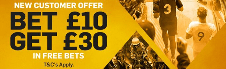 How To Claim Betfair's Bet £10 Get £30 Offer