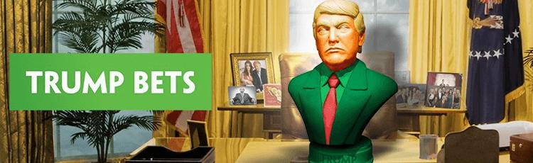 Bookies Banking On Trump