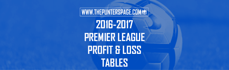 2016-2017 Premier League Profit & Loss League Table