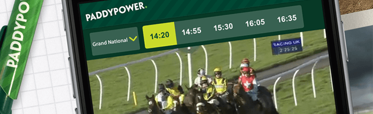 Paddy Power Live Stream & Schedule