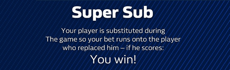 William Hill Super Sub Offer