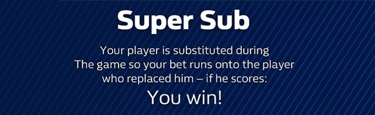 William Hill Super Sub Offer