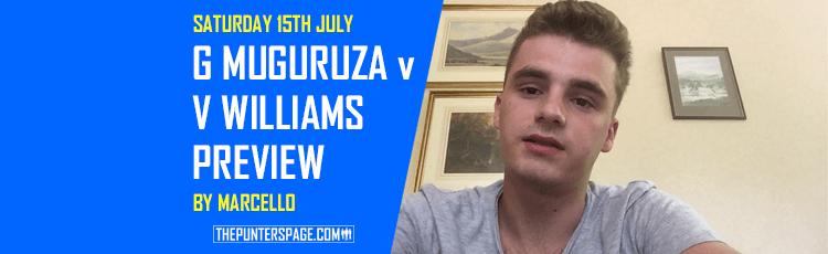 Garbine Muguruza v Venus Williams Betting Preview & Best Bet 15th July
