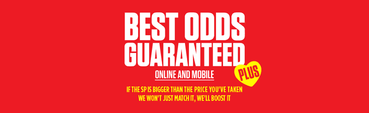 Ladbrokes Best Odds Guaranteed Plus Horse Racing
