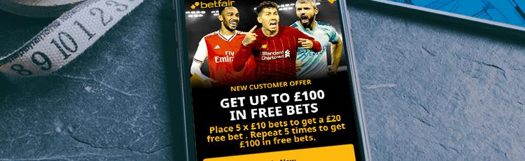 Betfair Free Bet Sign Up Offer