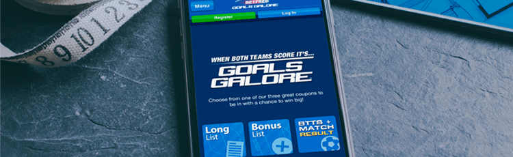 Betfred Goals Galore Coupons