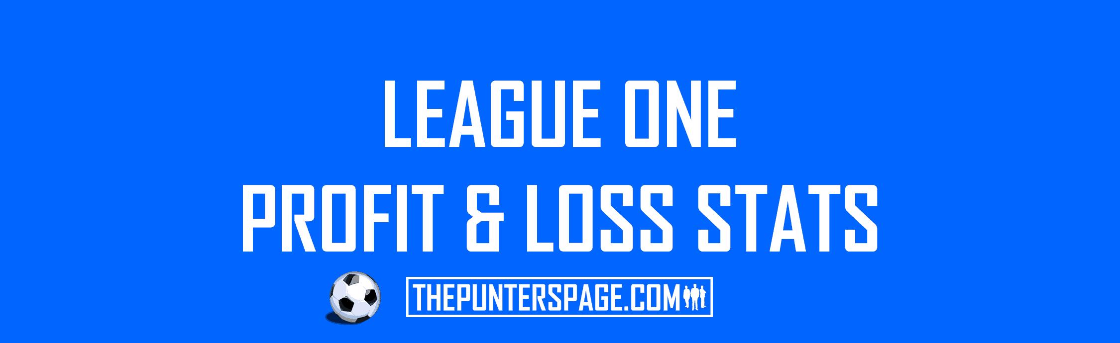 English League One Profit & Loss Statistics
