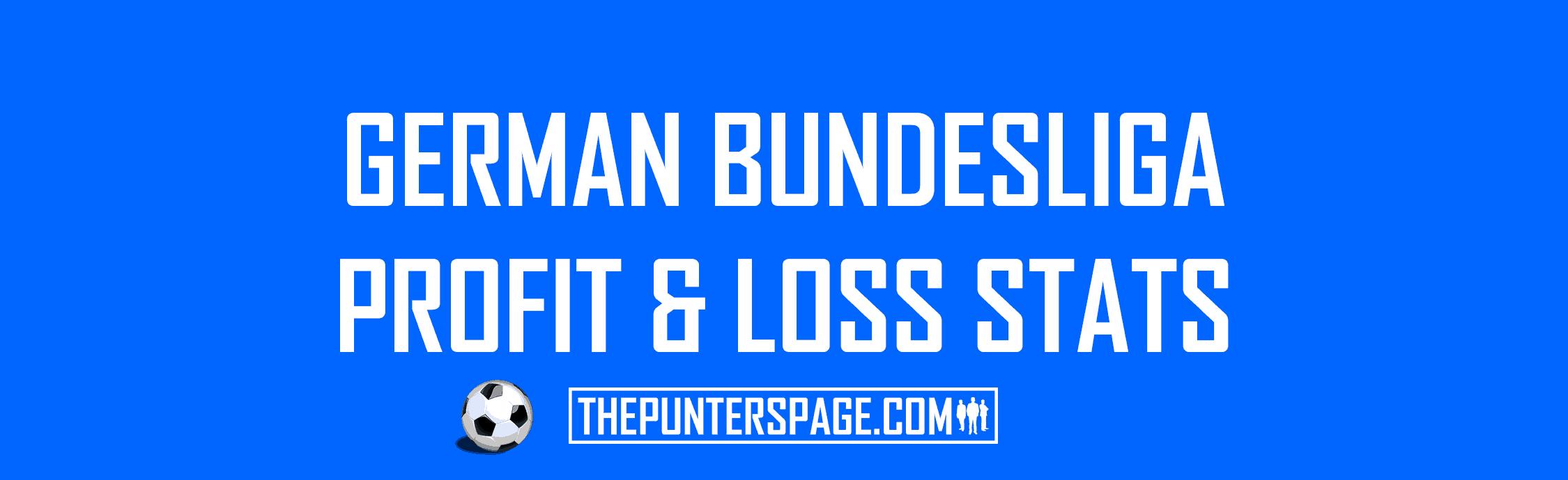 German Bundesliga Profit & Loss Statistics