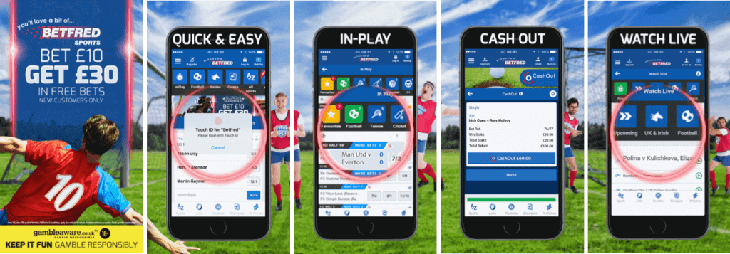 How To Download Betfred iPhone App