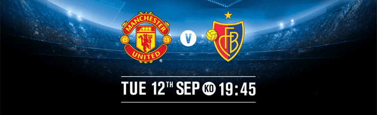 Man Utd v Basel Betting Preview 12th September
