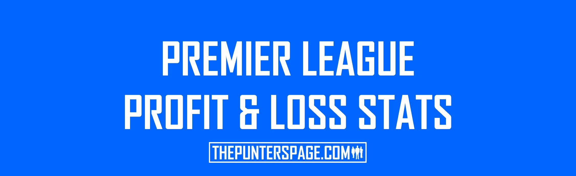 Premier League Profit & Loss Stats Table