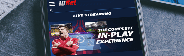 10Bet Live Stream & Schedule