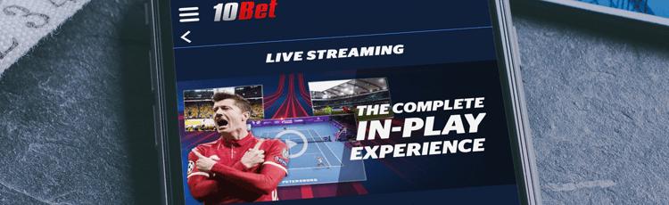 10Bet Live Stream & Schedule