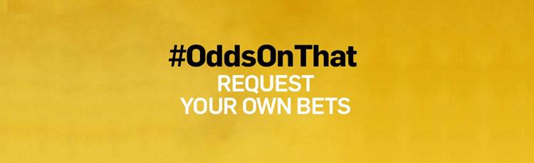 Betfair #OddsOnThat