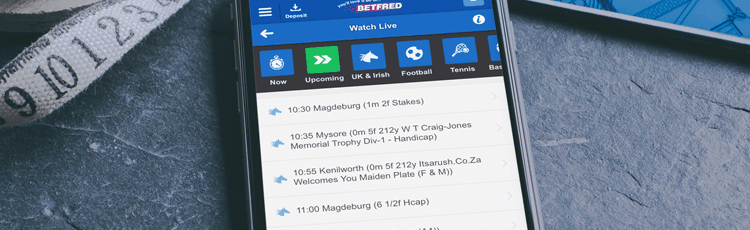 Betfred Live Stream & Schedule