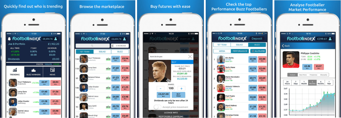 Football Index Mobile App