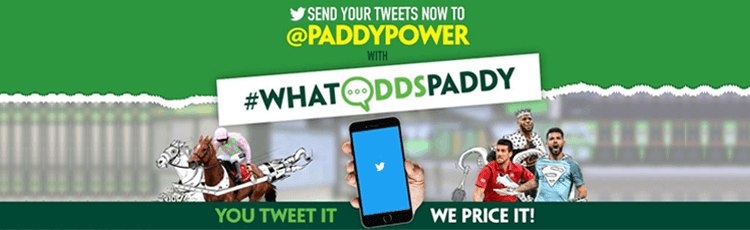 Paddy Power #WhatOddsPaddy