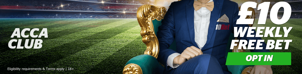 How To Claim 10Bet Acca Club
