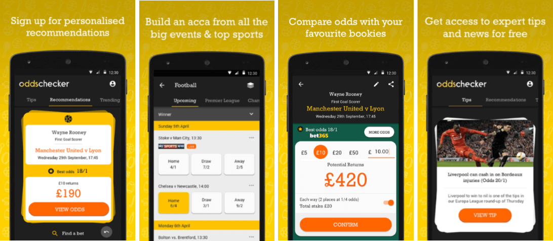 How To Download The Oddschecker Android App