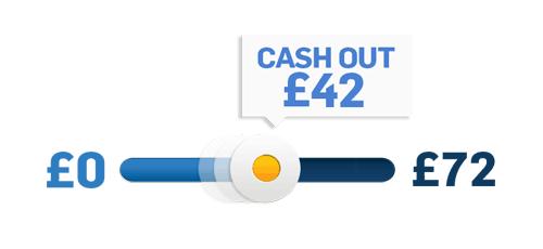 Cash Out Slider