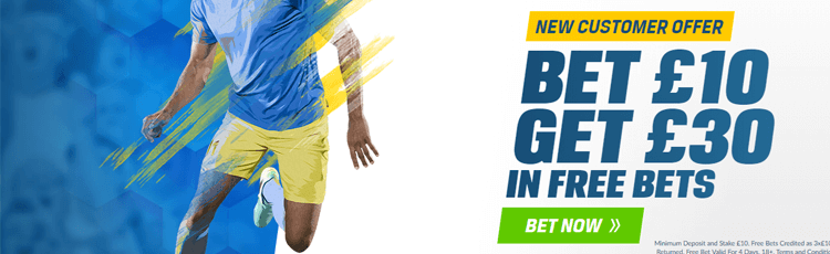 How To Claim The Coral Bet £10 Get £30 Offer