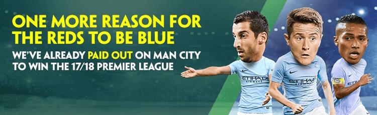 Paddy Power Pay Out Early On Man City Winning Premier League