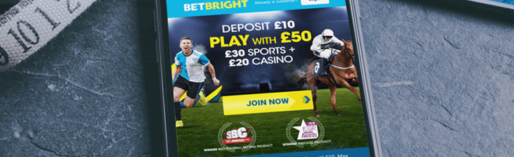 BetBright Free Bet Sign Up Offer