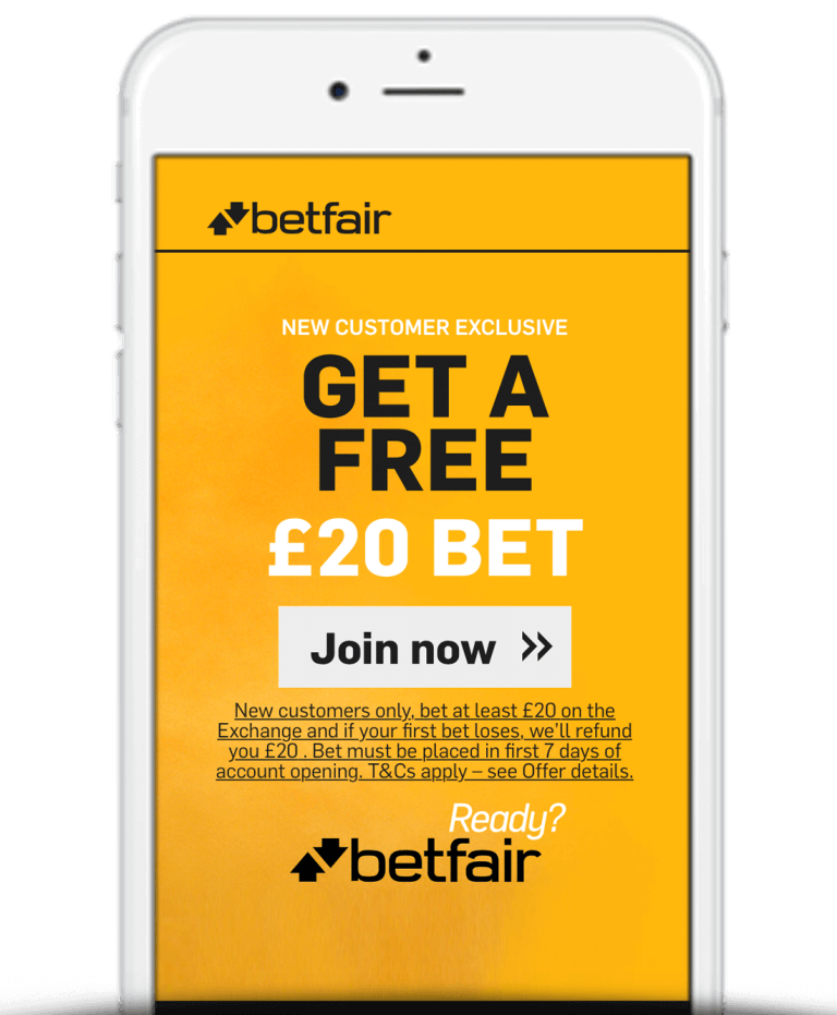 Betfair Mobile App Bonus