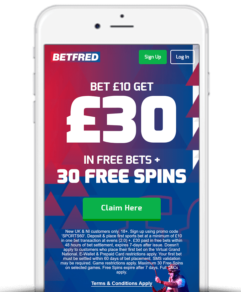 Betfred Mobile App Bonus
