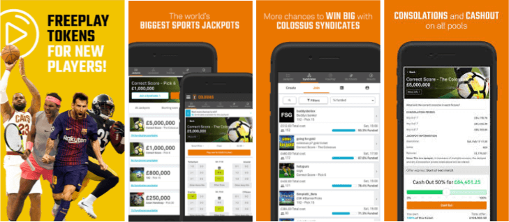 Colossus Bets Mobile & Tablet App