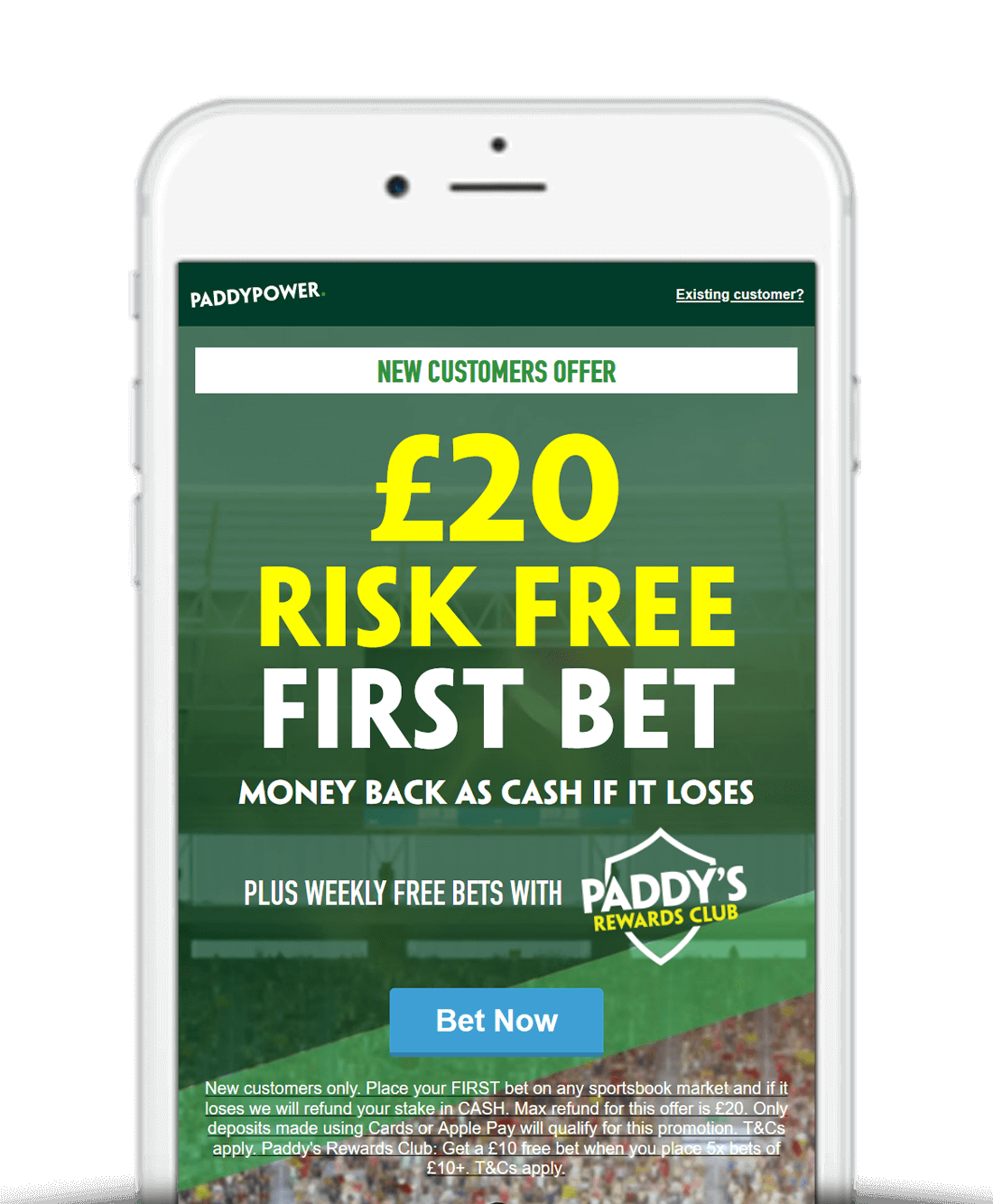 What Is The Paddy Power Sign Up Offer?
