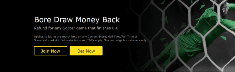 bet365 Bore Draw Money Back Offer Explained