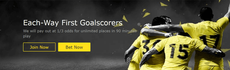 bet365 Unlimited Places On First Goalscorer Each Way Bets Offer Explained