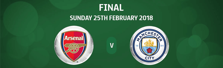 Arsenal v Man City League Cup Betting Preview Sunday 25th February