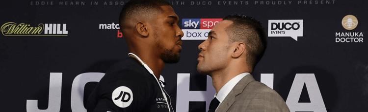 Anthony Joshua v Joseph Parker Betting Preview & Odds 31st March