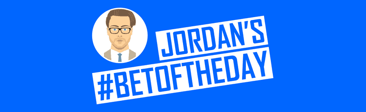 Jordan's #BetOfTheDay