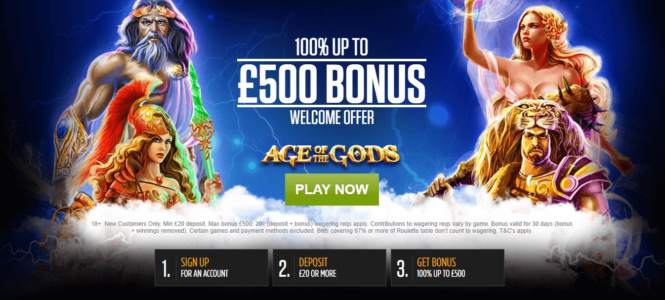 Ladbrokes Casino Offer