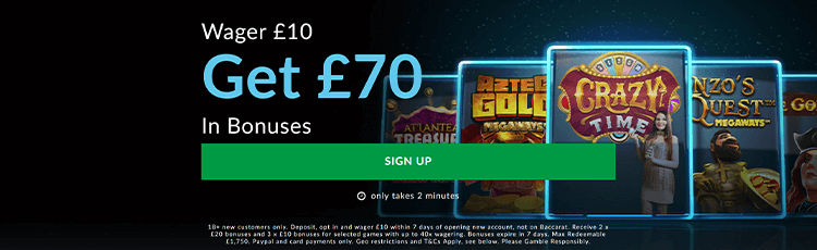 BetVictor Casino Promotion Code