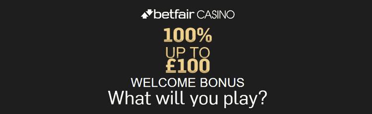 Betfair Casino Promotion Code
