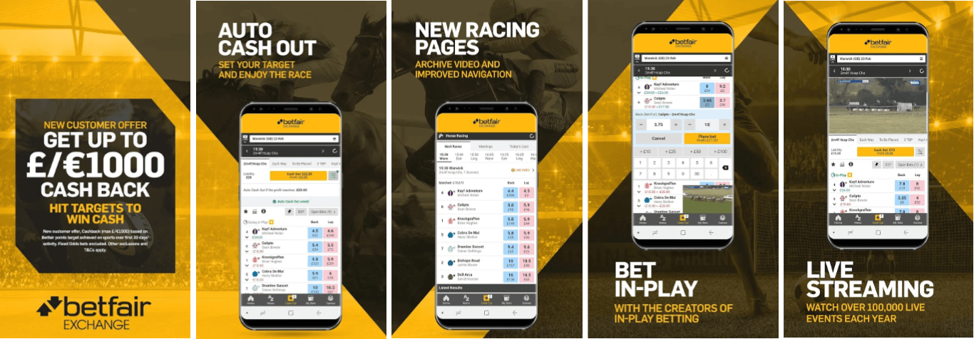 Betfair Exchange App
