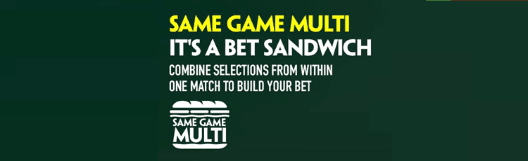 Paddy Power Same Game Multi