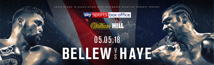 Tony Bellew v David Haye 2 Betting Preview & Odds 5th May